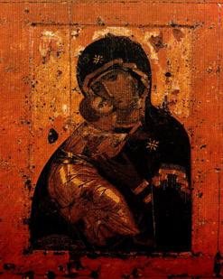 Икону Владимирской Божьей Матери