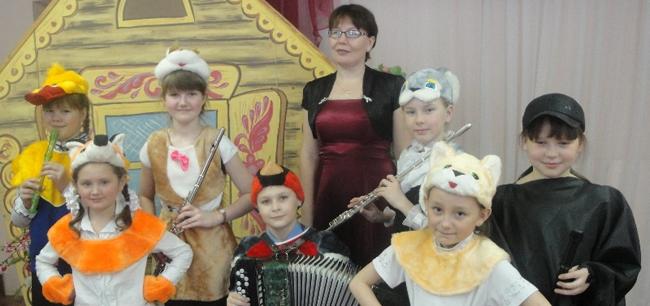 концерт для воспитанников детского сада